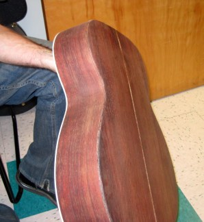 Martin 000-42 conversion unfinished rosewood