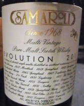 Samaroli Evolution 2011 at Whiskyfest 2013