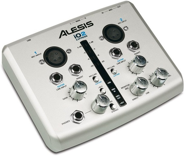 Choisir son interface audio - Alesis IO2