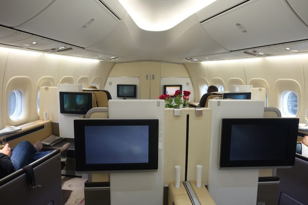 Lufthansa-First-Class - 11 - One Mile at a Time