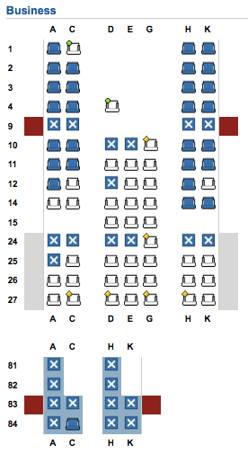 As You Can See This Is Yet Another Seatmap Based On The Fact That Second Two Rows Of Upper Deck Have Four Seats Per Row I Suspect Will