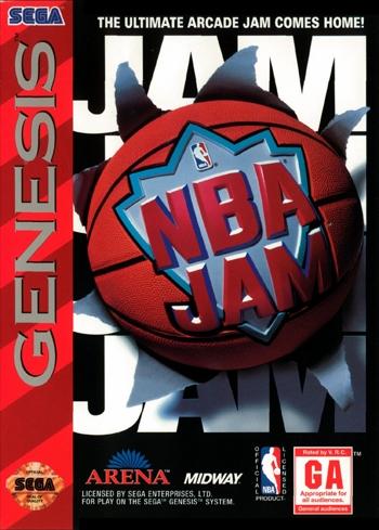 NBA Jam for Sega Genesis - Favorite Childhood Video Games
