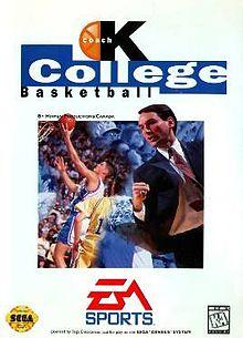 Coach K College Basketball for Sega - Favorite Childhood Video Games