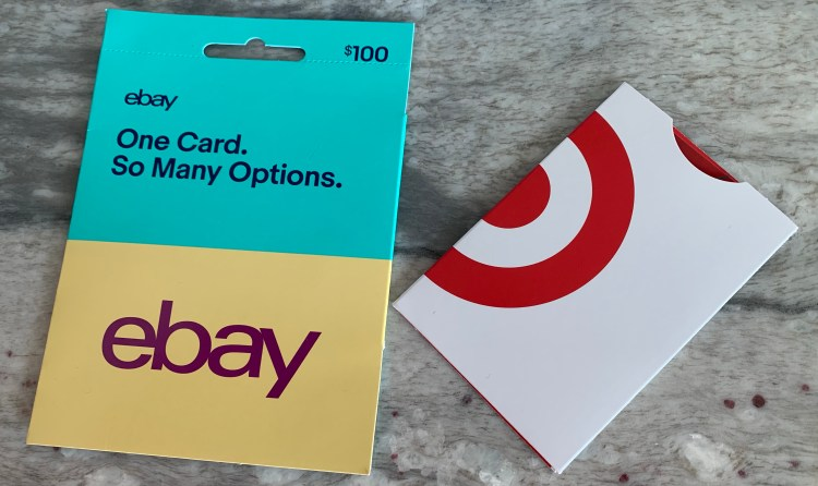 Ebay gift card and Harry Caray Cubs memorabilia for Christmas