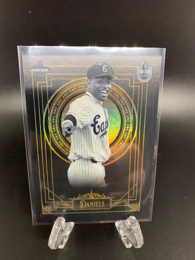 Negro Leagues Baseball Museum Centennial Draft Class Zach Daniels Houston Astros Baseball Card
