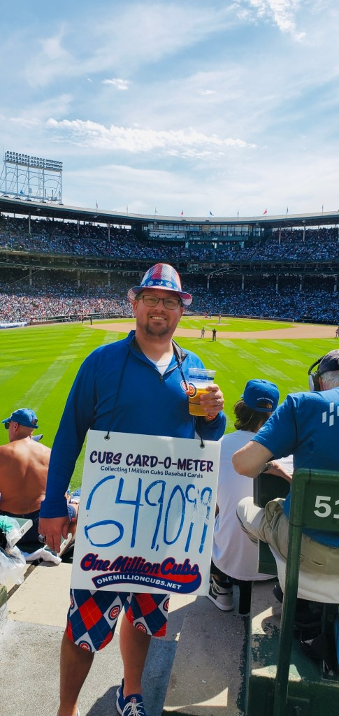 Beau from One Million Cubs Project doesn't want Cubs season tickets