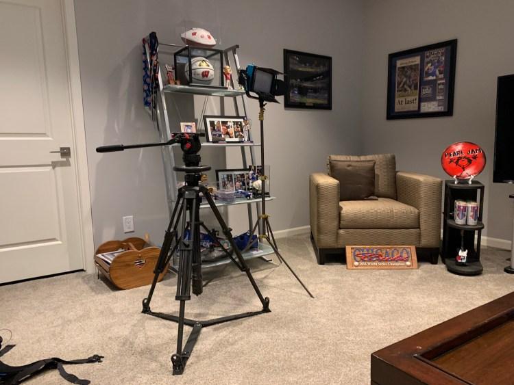 The Card Life TV Show cameras