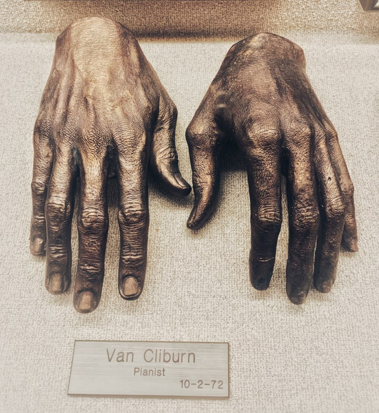 Van Cilburn, Pianist:  The Hand Collection at Baylor Medical Center in Dallas, Texas
