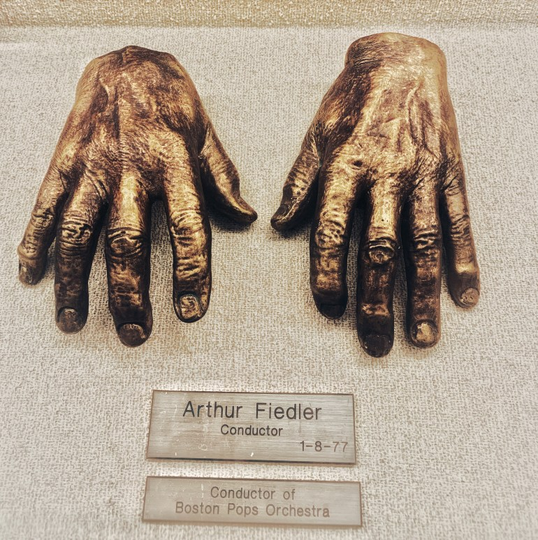 Arthur Fiedler, Conductor:  The Hand Collection at Baylor Medical Center in Dallas, Texas