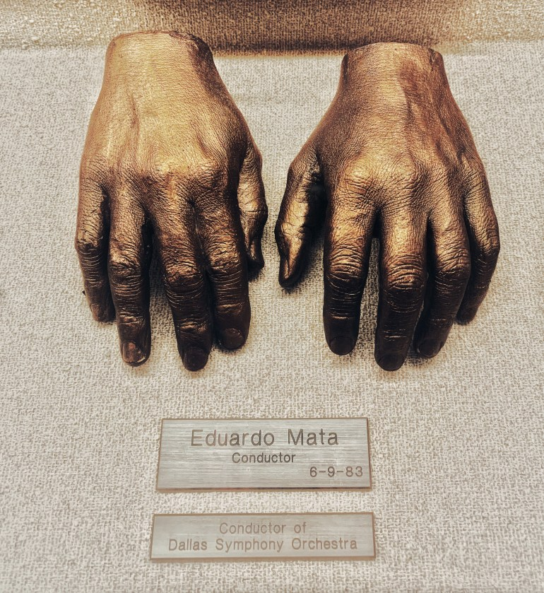 Eduardo Mata, Conductor:  The Hand Collection at Baylor Medical Center in Dallas, Texas