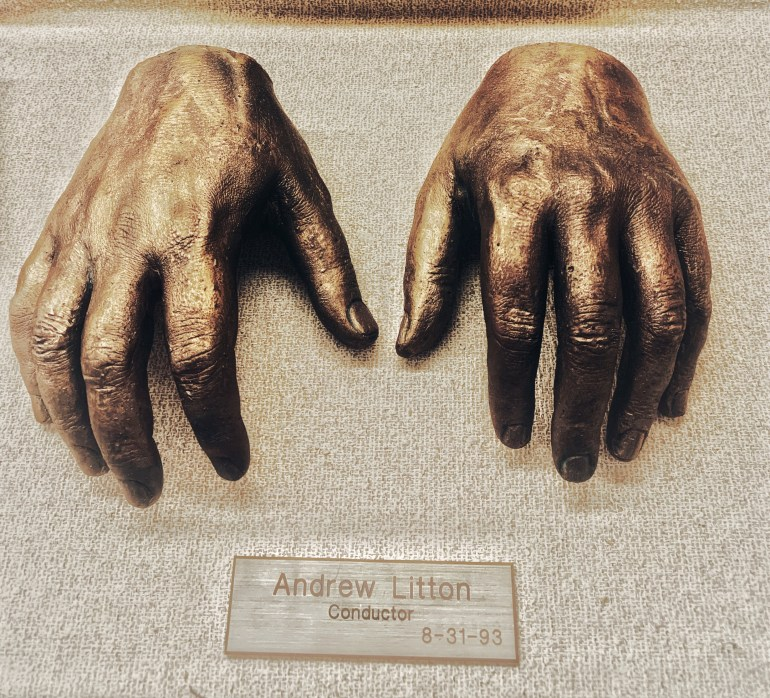 Andrew Litton, Conductor:  The Hand Collection at Baylor Medical Center in Dallas, Texas