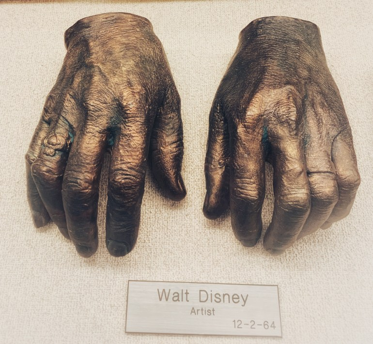 Walt Disney:  The Hand Collection at Baylor Medical Center in Dallas, Texas