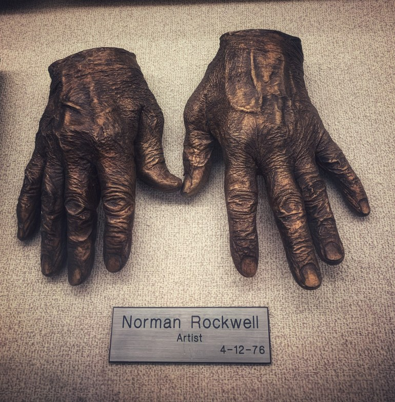 Norman Rockwell, Artist:  The Hand Collection at Baylor Medical Center in Dallas, Texas