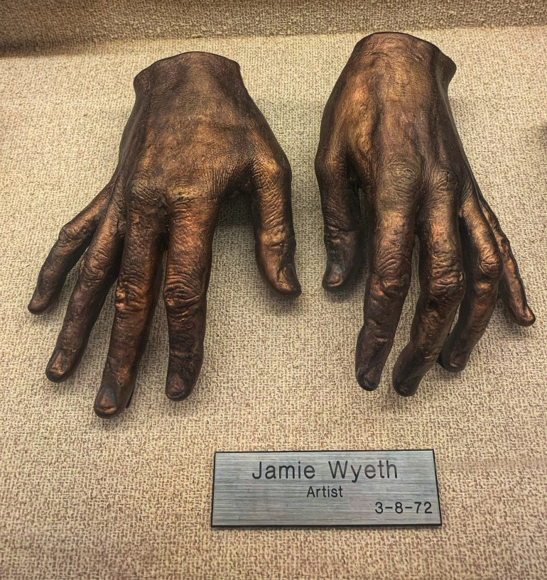 Jamie Wyeth, Artist:  The Hand Collection at Baylor Medical Center in Dallas, Texas