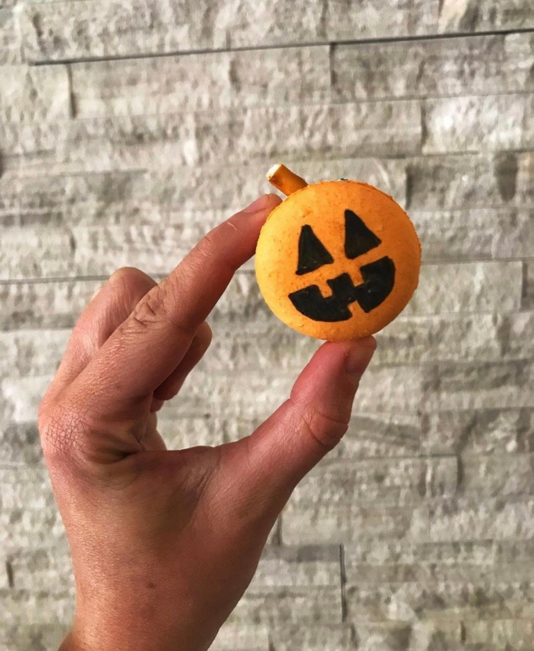 Pumpkin Macaron: Beautiful and Delicious Fall Cookies from Sweet Themes Bakery in Kent, Washington