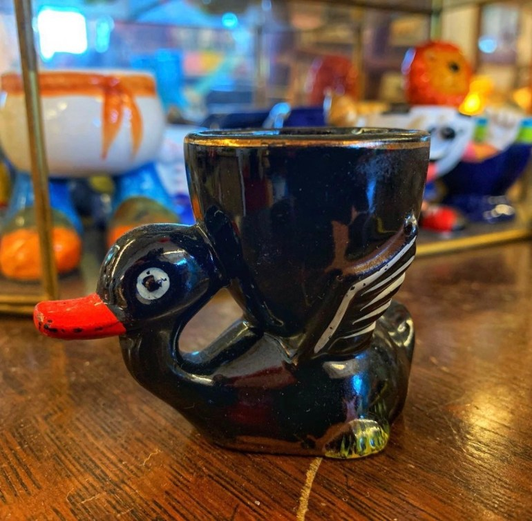 Snazzy Egg Cup:  An Afternoon of Antiques in Snohomish, Washington