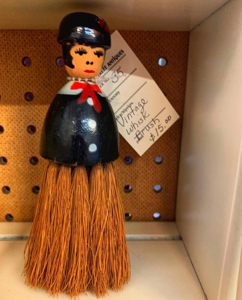 Vintage Whisk Brush:  An Afternoon of Antiques in Snohomish, Washington