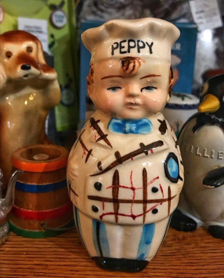 Peppy:  An Afternoon of Antiques in Snohomish, Washington