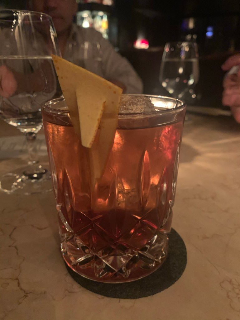 Cocktails at RPM in Chicago