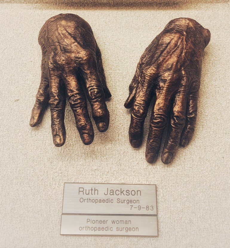 Ruth Jackson: The Hand Collection at the Baylor University Medical Center in Dallas, Texas