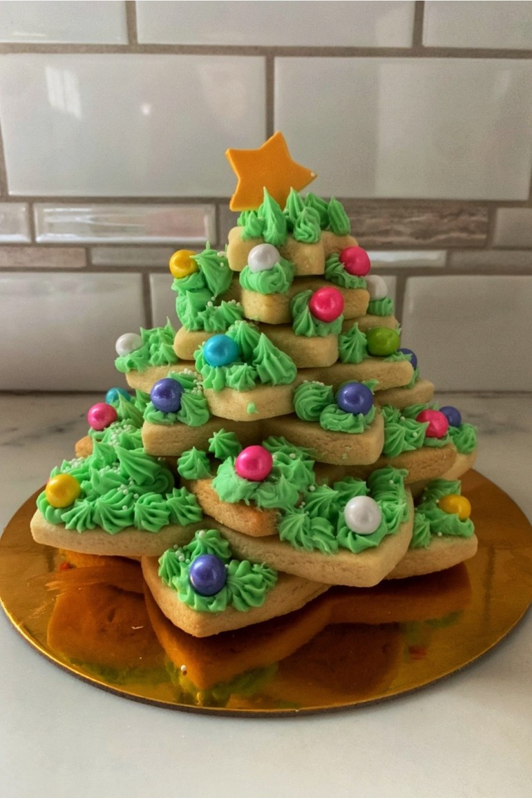 Christmas Confections: Sugar Cookie Christmas Tree