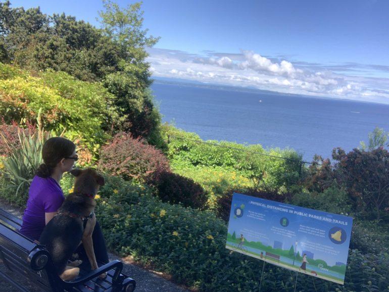 Stamm Overlook in Edmonds, Washington: Take 1