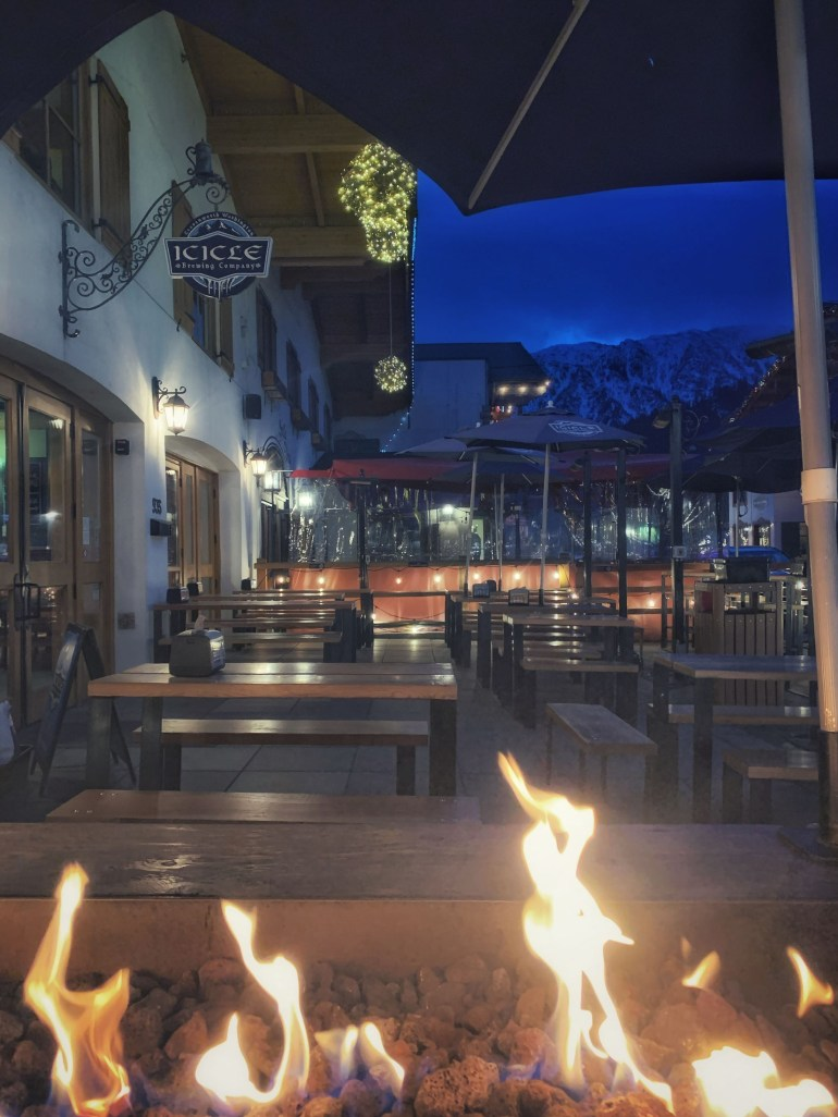 2020 in Review: Outdoor Dining in Leavenworth, Washington