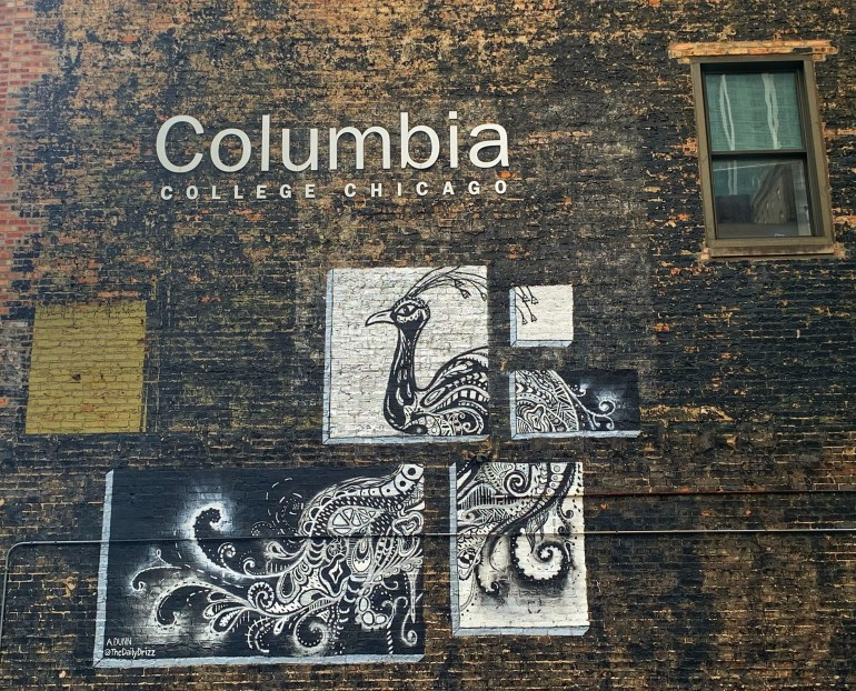 Street Art: Columbia College in Chicago