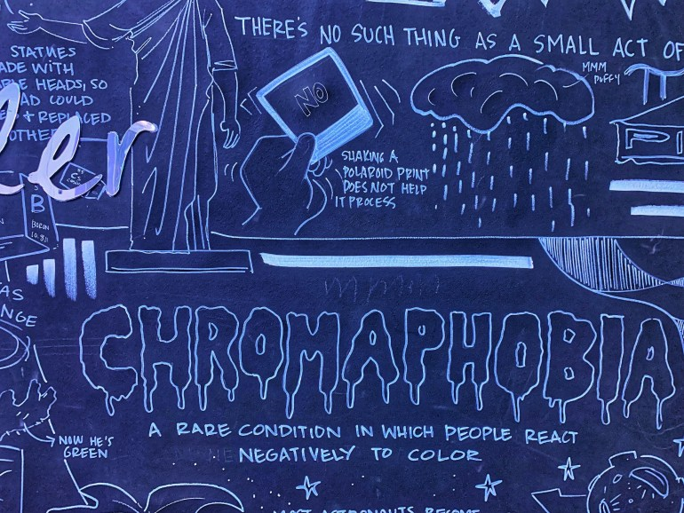 Chromophobia-A Rare Condition in Which People React Negatively to Color: At the WNDR Museum in Chicago