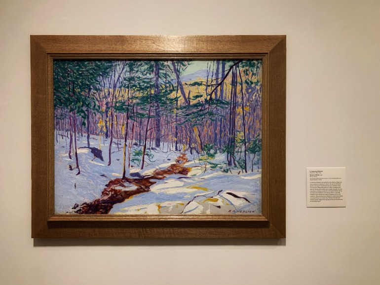 Frosty Weather, Snowy Weather at the Minneapolis Institute of Art in Minneapolis, Minnesota