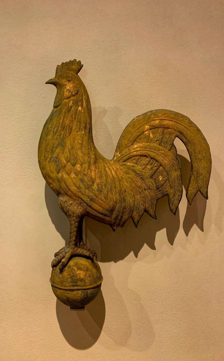 Rooster at the Minneapolis Institute of Art