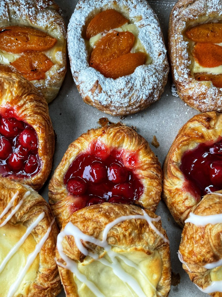 Breakfast Pastries from Baron Patisserie in Vancouver, WA