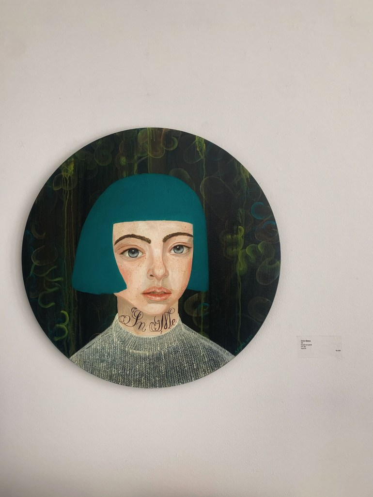 Anne Siems at the Gail Severn Gallery in Ketchum, Idaho