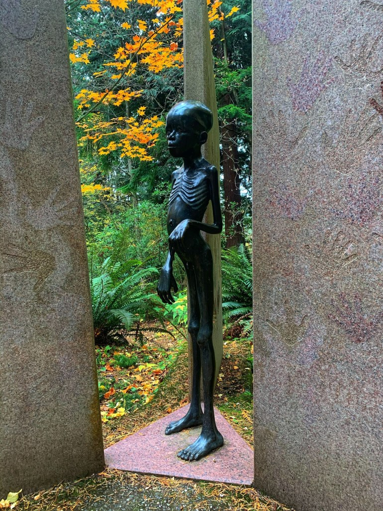 Big Rock Sculpture Garden in Bellingham, Washington