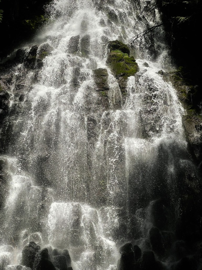 Sounds of Summer: Rushing Water at Ramona Falls in Oregon