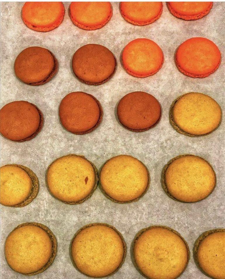 Making French Macarons at the Pantry in Seattle, Washington