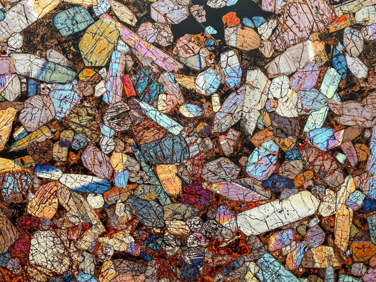 Cosmic Microscapes at the High Desert Museum in Bend, Oregon