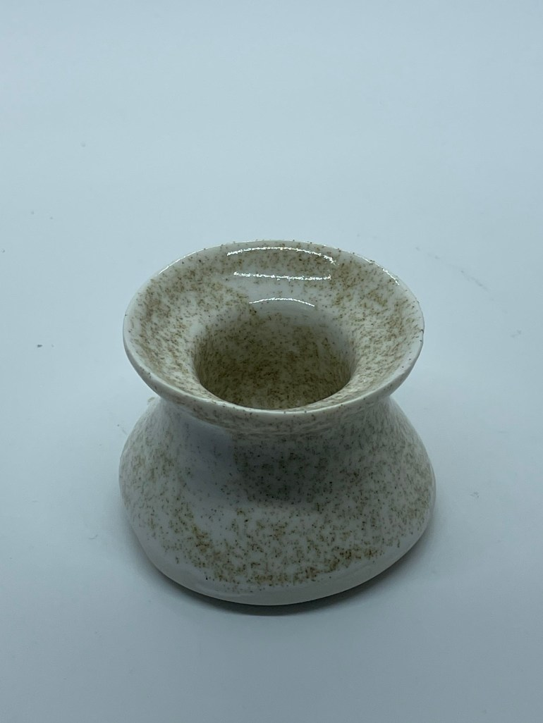 Off the Pottery Wheel: Terrazzo Candle Stick Holder
