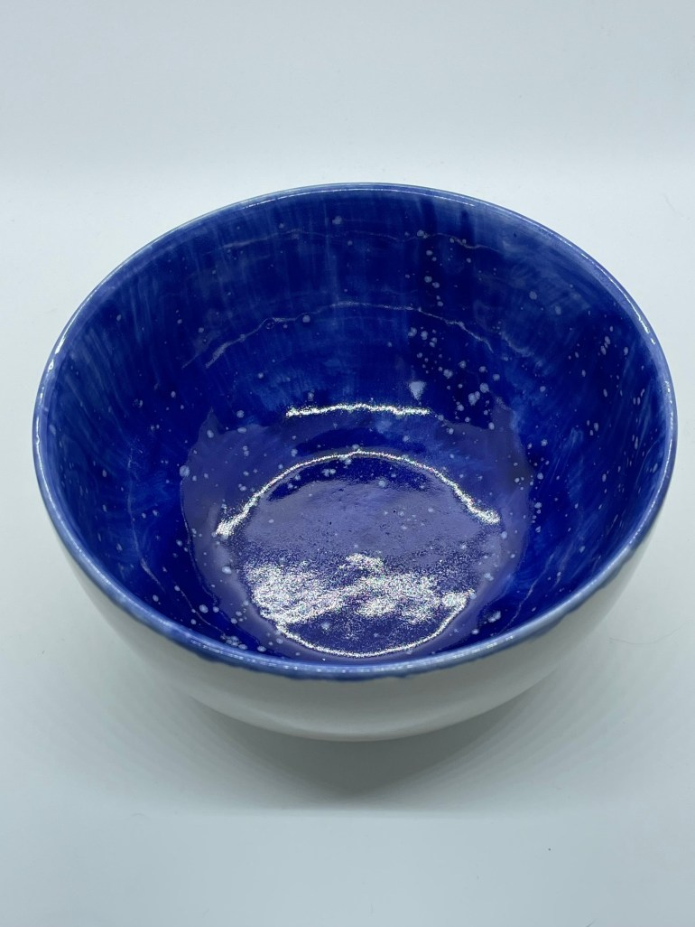 Off the Pottery Wheel: Speckled Rice Bowl