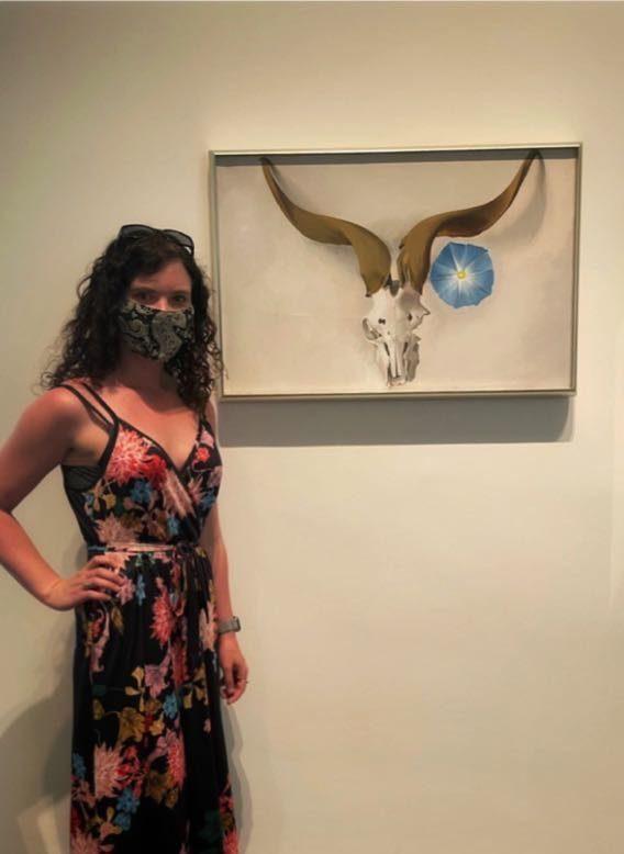 Photo taken at the Georgia O'Keeffe Museum in Santa Fe