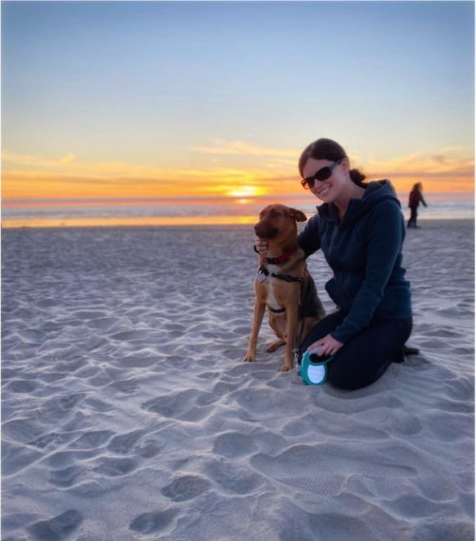 Meet Rico the Rescue Dog from Costa Rica on Canon Beach, Oregon