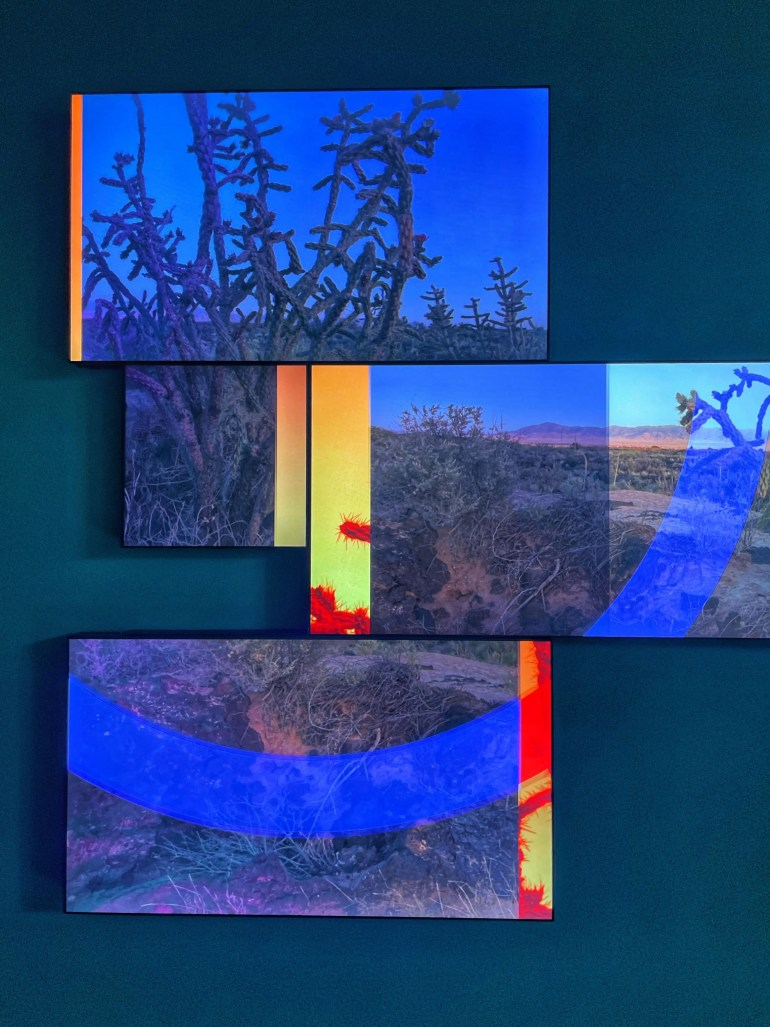Everything In Between by Yorgo Alexopoulos at the New Mexico History Museum, Santa Fe