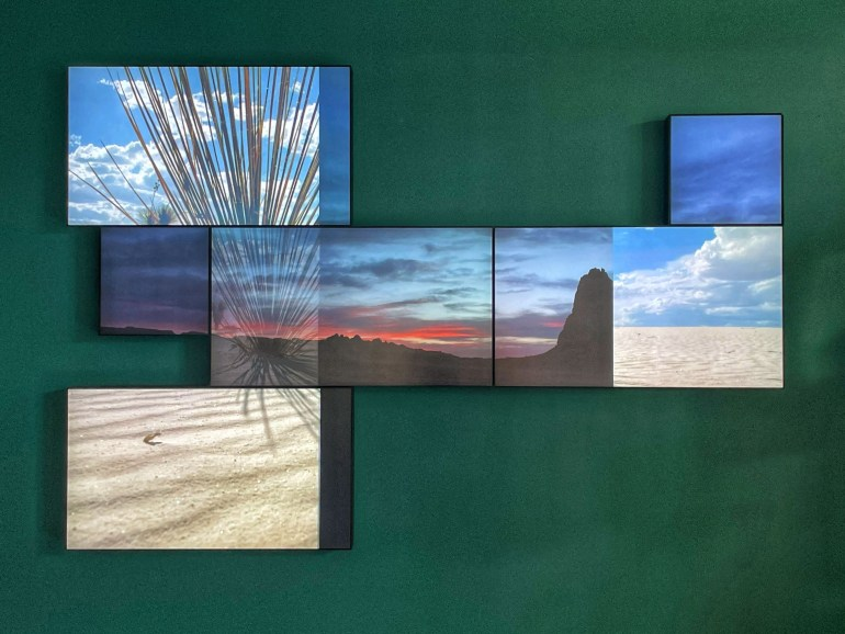 Everything in Between by Yorgo Alexopoulos at the New Mexico History Museum in Santa Fe