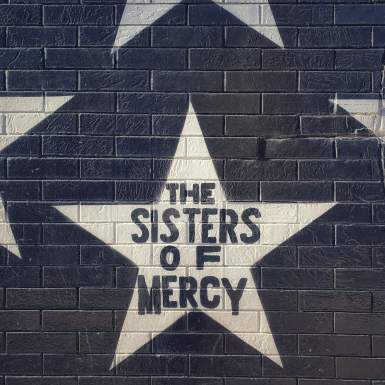 The Sisters of Mercy on the First Ave Starts in Minneapolis, Minnesota