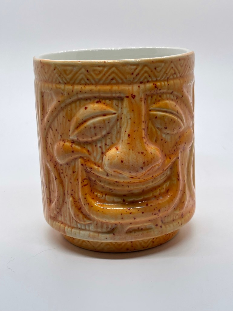 Hand Made Pottery: Slip Cast Tiki Cup