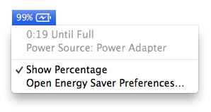 Battery without option