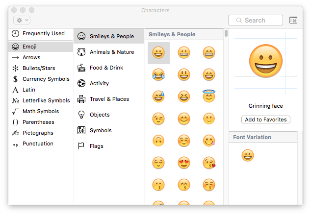 How to type Emojis and Symbols on a Mac - One-Minute Macman