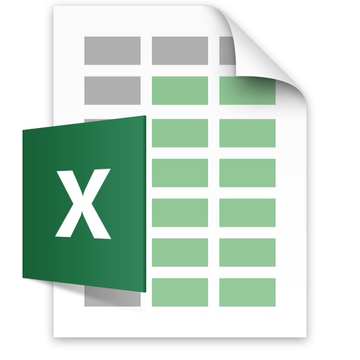 Excel document icon