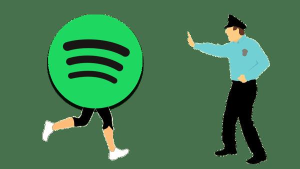 Stop Spotify