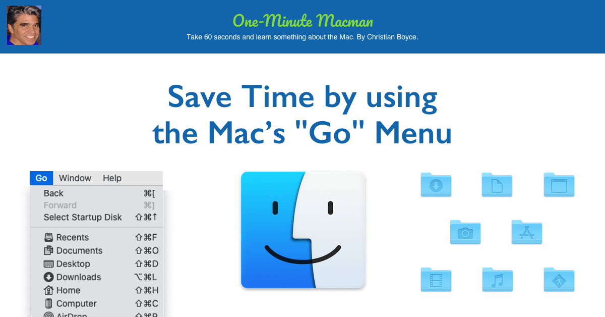 The Finder's Go Menu